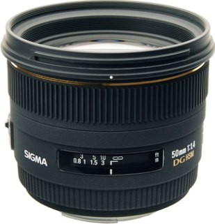 50mm/1.4 EX DG HSM Standard Lens For Canon EOS (77mm) *FREE SHIPPING*