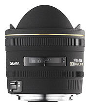 DC 10mm F/2.8 EX HSM Fisheye Lens For Sigma Digital SLRs *FREE SHIPPING*