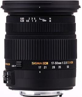 DC 17-50mm F/2.8 EX OS HSM Zoom Lens For Sony Alpha & Minolta Maxxum *FREE SHIPPING*