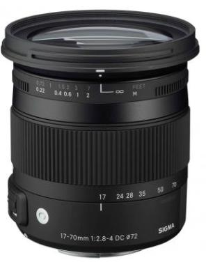 17-70mm F/2.8-4 DC Macro OS HSM Asph Lens For Canon EF Digital SLRs  *FREE SHIPPING*
