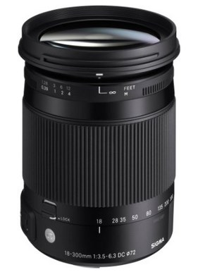 18-300mm F/3.5-6.3 DC Macro OS HSM Wide Angle Telephoto Zoom Lens For Canon EOS *FREE SHIPPING*