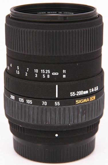 55-200mm f/4-5.6 DC Telephoto Zoom Lens for Nikon *FREE SHIPPING*