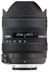 DC 8-16mm F/4.5-5.6 FLD HSM Ultra Wide-Angle Zoom Lens For Canon EF Aps-C Digital SLR Camera *FREE SHIPPING*