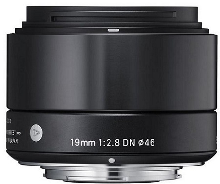 19mm f/2.8 EX DN ART Lens for Micro 4/3 Digital Cameras - Black *FREE SHIPPING*