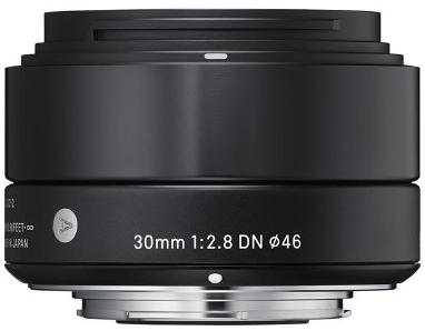 30mm f/2.8 EX DN Art Lens for Micro 4/3 Digital Cameras - Black *FREE SHIPPING*
