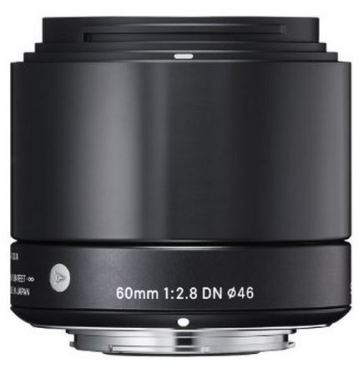 60mm f/2.8 EX DN Art Lens for Sony NEX Digital Cameras - Black *FREE SHIPPING*