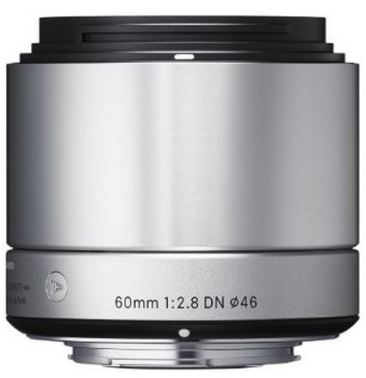 60mm f/2.8 EX DN Art Lens for Micro 4/3 Digital Cameras - Silver *FREE SHIPPING*