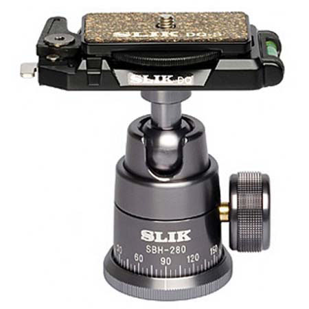 SBH-280 DQ Professional Ball Head W/Quick Release - Black *FREE SHIPPING*