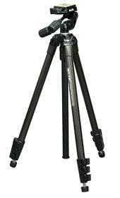 Sprint Pro II Compact Tripod With SH-704E 3-Way Head With Quick Release - Black Finish *FREE SHIPPING*