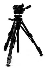 U-212 Deluxe Tripod With 3-Way Pan/Tilt Q.R. Head *FREE SHIPPING*