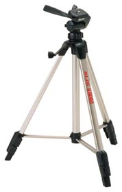 U-8000 Tripod With 3-Way Pan/Tilt Q.R. Head *FREE SHIPPING*