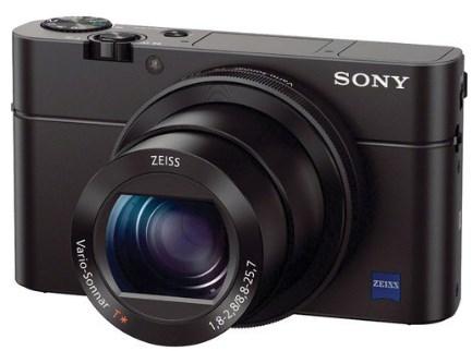 DSC-RX100 III 20.2 MegaPixel Bright f/1.8 24-70mm Zeiss Zoom, 3.0 Inch Tiltable LCD, Full HD Video Digital Camera - Black *FREE SHIPPING*