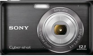 DSC-W310 Cyber-Shot 12.1 Megapixels, 4x Optical Zoom, 2.7inch LCD, Iauto, Smile Shutter, Face Detection, Steadyshot Image Stabilization Digital Camera Black *FREE SHIPPING*