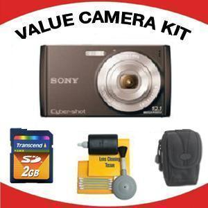 DSC-W510 DIGITAL CAMERA BLACK with Value Accessory Kit (2GB Mem Card, Carrying Case & Cleaning Kit) *FREE SHIPPING*