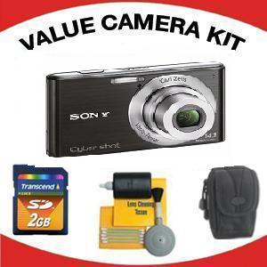 DSC-W530 DIGITAL CAMERA BLACK with Value Accessory Kit (2GB Mem Card, Carrying Case & Cleaning Kit) *FREE SHIPPING*