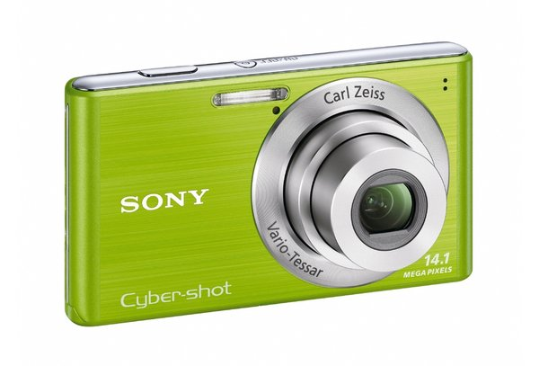 DSC-W530 14.1 MegaPixel 26mm/4x optical zoom 2.7inch LCD SteadyShot Digital Camera Green *FREE SHIPPING*
