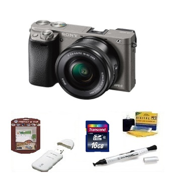 Alpha A6000 Digital SLR Camera Kit Advanced Kit - Graphite *FREE SHIPPING*