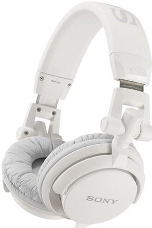 MDR-V55/WHI DJ style Headphones *FREE SHIPPING*