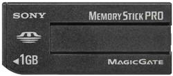 Msx-1gs, 1gb Memory Stick Pro