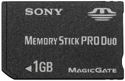 Msxm-1gst, 1gb Memory Stick Pro Duo