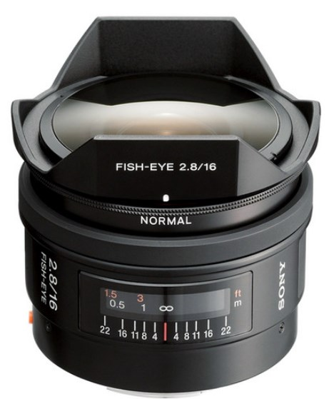 SAL 16/2.8 Fisheye Lens For Sony Alpha & Minolta Maxxum SLR Cameras  *FREE SHIPPING*