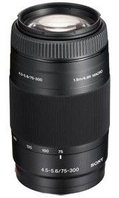 SAL 75-300/4.5-5.6 Compact Telephoto Zoom Lens For & Minolta Maxxum SLR Cameras (55mm) *FREE SHIPPING*