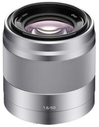 SEL 50mm f/1.8 OSS Lens For Alpha NEX Cameras - Silver *FREE SHIPPING*