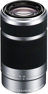 SEL 55-210mm f/4.5 - 6.3 APS-C Format Telephoto Zoom Lens - Silver *FREE SHIPPING*