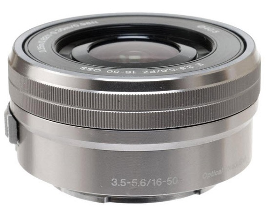 SELP1650 E 16-50mm f/3.5-5.6 Retractable Power Zoom APS-C Format Lens - Silver *FREE SHIPPING*