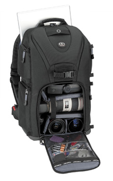 5788 Evolution 8 Photo/Laptop Sling Backpack - Black *FREE SHIPPING*