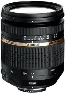 SP AF 17-50/2.8 VC Vibration Compensation Di II LD Aspherical IF Macro B.I.M (Built-In-Motor) Wide-Angle Telephoto Zoom Lens For Nikon Digital SLR Cameras  (72mm) *FREE SHIPPING*