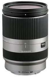 AF 18-200/3.5-6.3 Di III VC Zoom Lens For Sony Nex E-Mount Cameras - Silver *FREE SHIPPING*