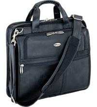 15&Quot; Leather Corporate Traveler With Air Protection *FREE SHIPPING*