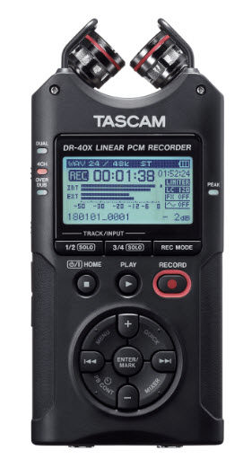 DR-40X 4-Channel / 4-Track Portable Digital Recorder *FREE SHIPPING*