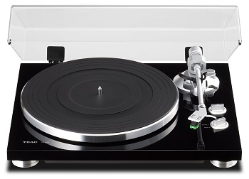 TEAC TN-300 Analog Turntable with Built-in Phono Pre-amplifier & USB Digital Output-Black *FREE SHIPPING*