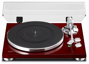 TEAC TN-300 Analog Turntable with Built-in Phono Pre-amplifier & USB Digital Output-Cherry *FREE SHIPPING*