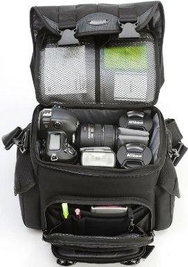 Black Label Shoulder Camera Bag Small - Black *FREE SHIPPING*