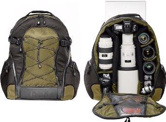 Shootout Backpack Large - Black/Olive *FREE SHIPPING*