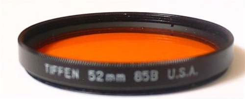 52mm 85b Color Conversion Filter *FREE SHIPPING*