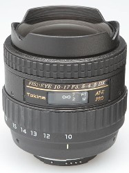 AF AT-X 10-17/3.5-4.5 Pro DX Fisheye Zoom Lens For Canon EOS Digital SLRs *FREE SHIPPING*