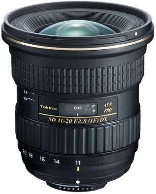 AT-X 11-20mm f/2.8 Pro DX Ultra Wide Zoom Lens For Nikon APS-C DSLR (82mm) *FREE SHIPPING*