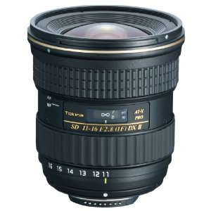 AT-X 11-16/2.8 Pro DX II Ultra Wide Angle Zoom Lens For Canon EOS SLRs (77mm) *FREE SHIPPING*