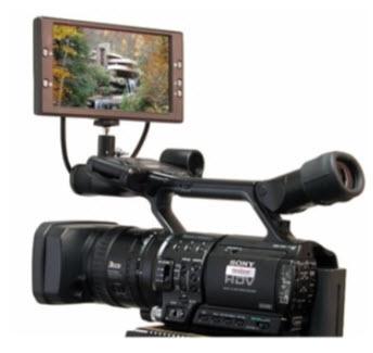 Vz-Tft-7,16:9  7&Quot; Tft Active Matrix LCD Monitor (Pal & Ntsc)
