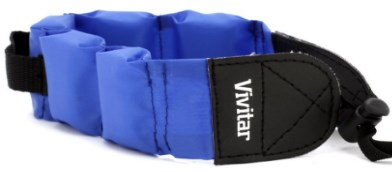 Floating Wrist Strap for UnderWater/WaterProof Cameras - Blue *FREE SHIPPING*