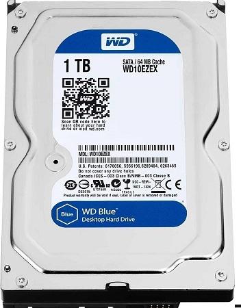 WD10EZEX 1TB Cavier Blue SATA 6Gb/s 3.5