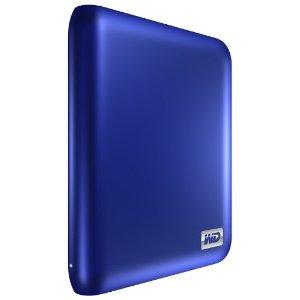 My Passport Essential SE 1 TB USB 3.0/2.0 Ultra Portable External Hard Drive (Metallic Blue)