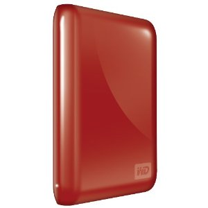 My Passport Essential 500 GB USB 3.0/2.0 Portable External Hard Drive (Real Red)