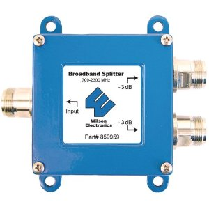 859959 700-2300 MHz Antenna Splitters w/ F female connectors  *FREE SHIPPING*