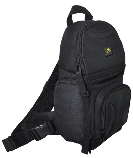 XTBP Deluxe Digital Camera/Video Padded Backpack- Black *FREE SHIPPING*