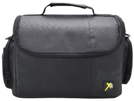 XTCC3 Deluxe Digital Camera/Video Padded Carrying Case Large - Black *FREE SHIPPING*